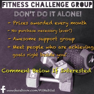 The free Fit Habitat Challenge Group