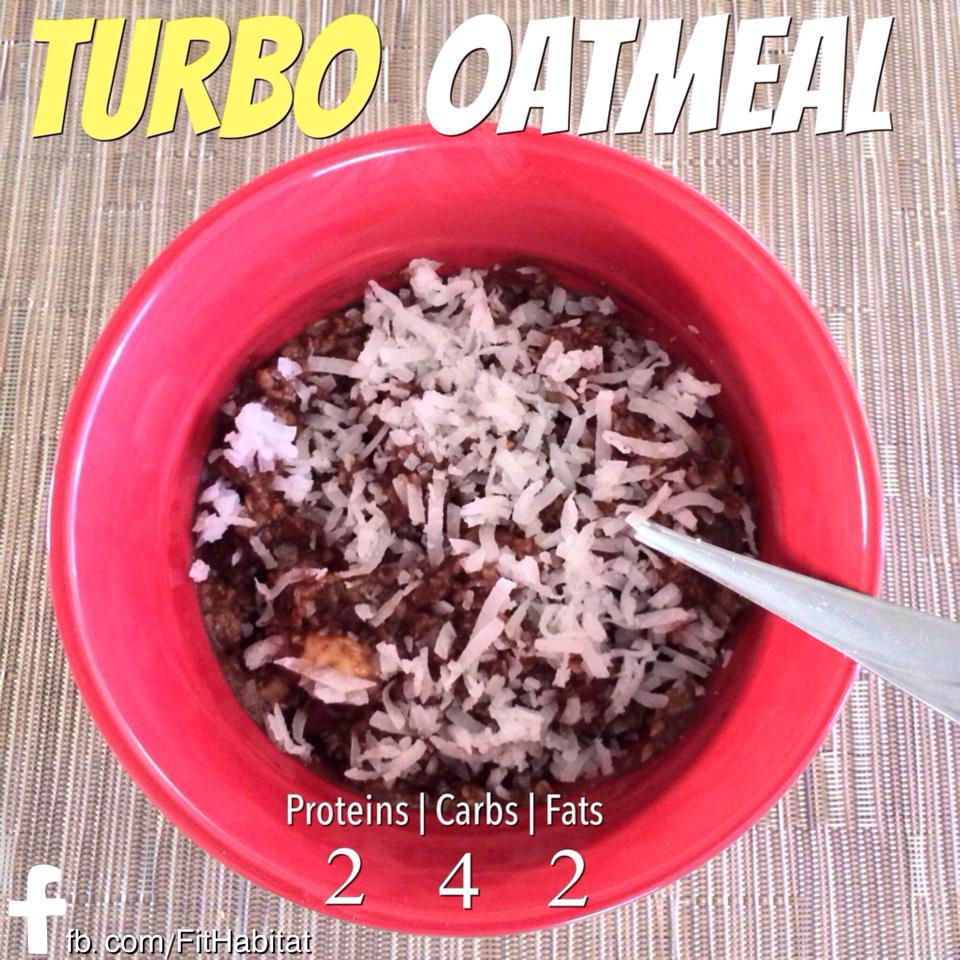Turbo Oatmeal – A P90X 3 Recipe