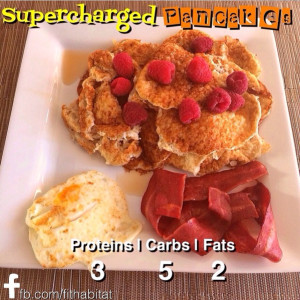 supercharged pancakes